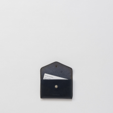 Hender Scheme「one piece card case / black 」