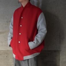 the Sakaki「 stadium jumper / Red 」