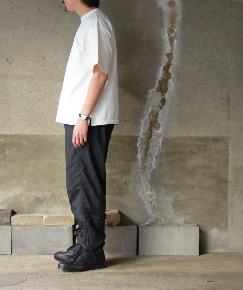 AURALEE「STAND-UP TEE / WHITE 」