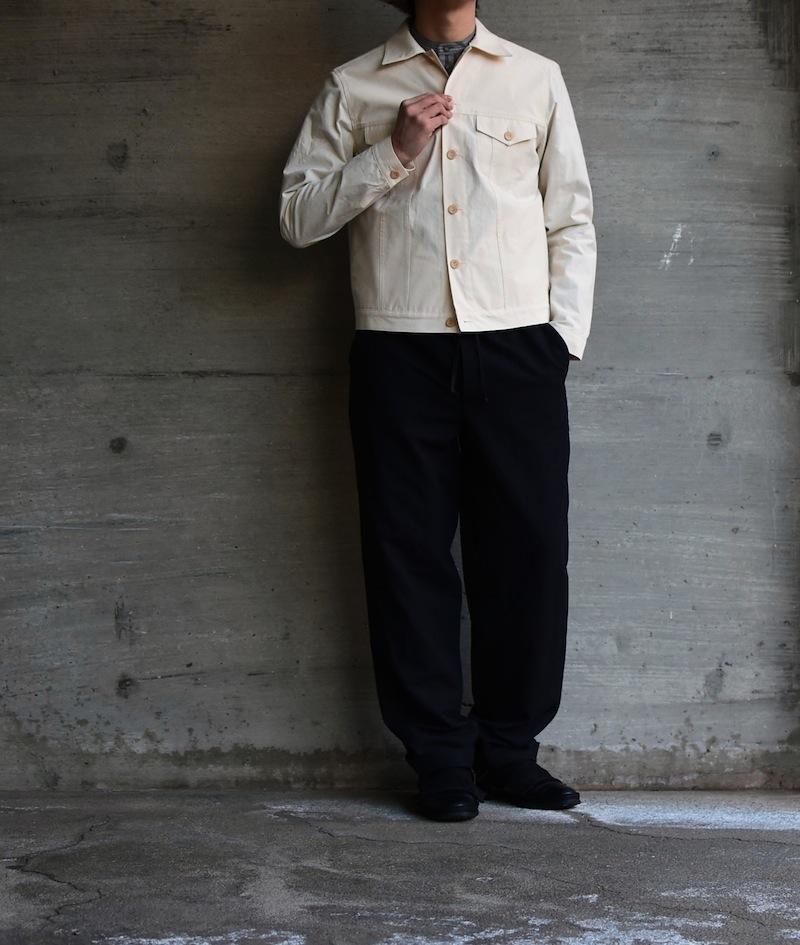 FRANK LEDER 「VINTAGE BEDSHEET SHORT JACKET」