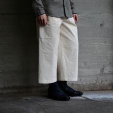 FRANK LEDER 「VINTAGE BEDSHEET DRAWSTRING PANTS」