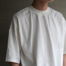 AURALEE「 SOFT CORD BIG TEE / WHITE 」--03