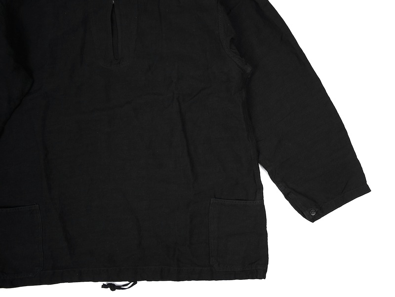 OLD JOE「SHAWL COLLAR NAVY OVER SIZE SMOCK / INK BLACK」