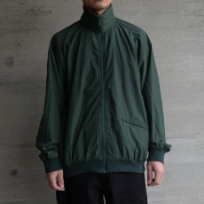 ESSAY「J-3 : HIGH NECK JERSEY BLOUSON / green 」