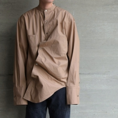 WHOWHAT「AFTER PARTY SHIRT / BEIGE」