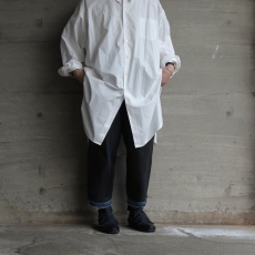 WHOWHAT「5X SHIRT〈LONG〉/ WHITE」