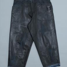 ESSAY「P-3 : OVERSIZED TAPERED PANTS  / indigo」