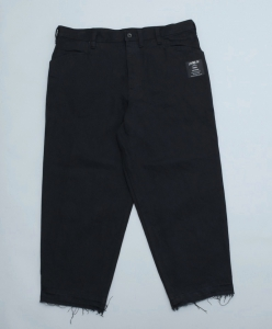 ESSAY「P-3 : OVERSIZED TAPERED PANTS  / black」