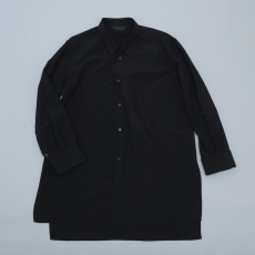 ESSAY「SH-3 : LONG DRESS SHIRT/ black 」