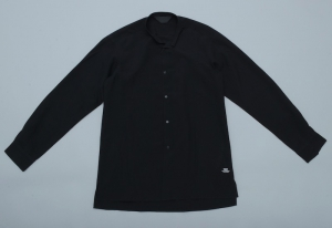 ESSAY「SH-2:STAND COLLAR DRESS SHIRT / black」