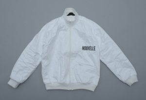 ESSAY「J-3 : HIGH NECK JERSEY BLOUSON / white(Tyvek)」