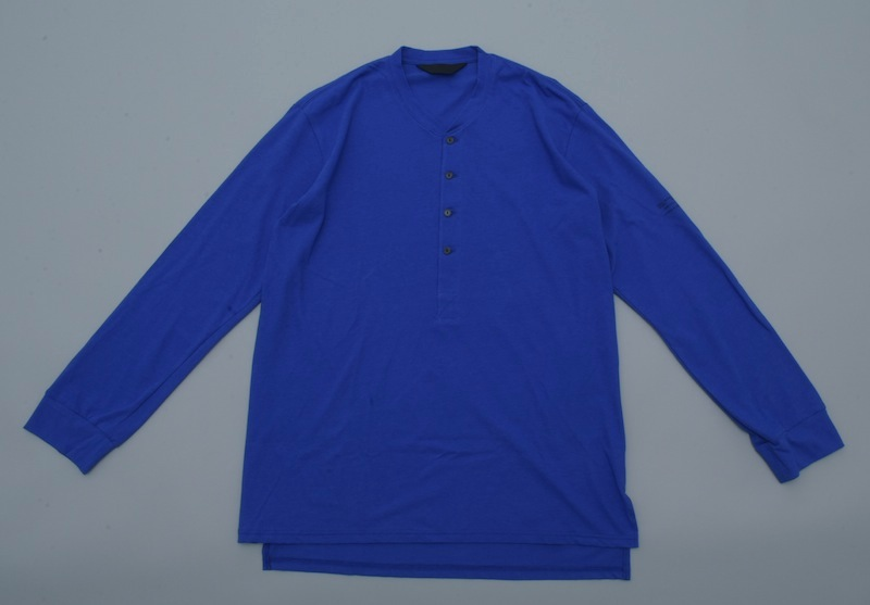 ESSAY「TS-3:HENLY NECK L/S TEE / blue」