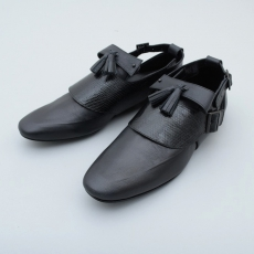 the Sakaki × MIDORIKAWA RYO「 Loafers with 拘束具」