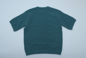 crepuscule「S/S Knit / Green」