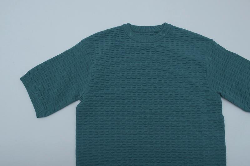 crepuscule「S/S Knit / Green」