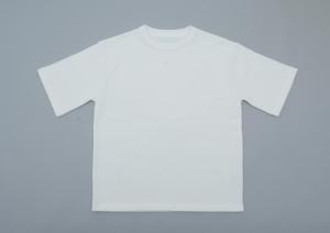 crepuscule「Highgage Moss Stitch S/S Cutsew / White」