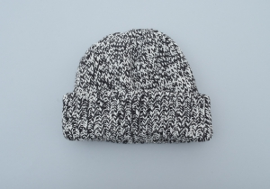 crepuscule「Knit cap / Black Mix」