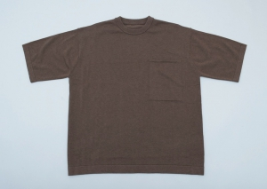crepuscule「Pocket Knit S/S / Brown」