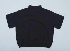 crepuscule「Mockneck S/S Ladies / Black」