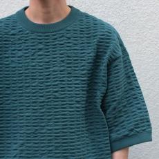 crepuscule「S/S Knit / Green」--06