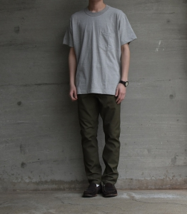BROWN by 2-tacs「DUAL SUVIN POCKET」--03