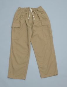 GOOFY CREATION「TROPICAL COMFORT TROUSERS / Safari beige」