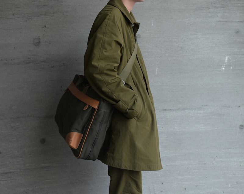 BROWN by 2-tacs × PORTER「 BRIEF BAG 」