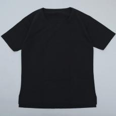 the Sakaki「the Bang U-NECK S/S   / Black」
