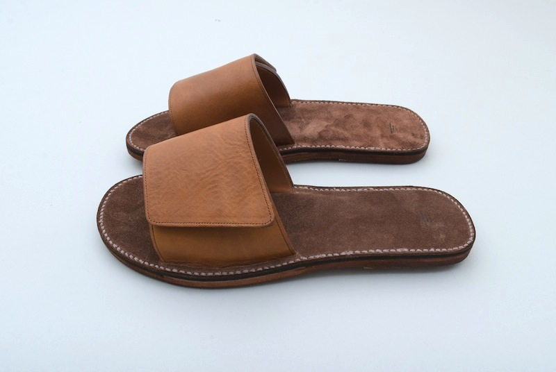 OLD JOE「ADJASTUBLE LEATHER SANDALE / CAMEL」