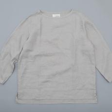 AUGUSTE-PRESENTATION PajamaLook「リネンシーツ長袖プルオーバー / L.GREY 」