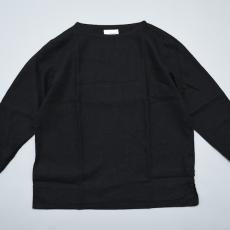 AUGUSTE-PRESENTATION PajamaLook「リネンシーツ長袖プルオーバー / BLACK 」