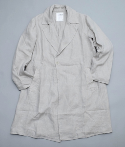 AUGUSTE-PRESENTATION PajamaLook「リネンシーツチェスターコート」