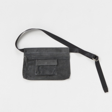 Hender Scheme「waist belt bag wide /  dark gray」