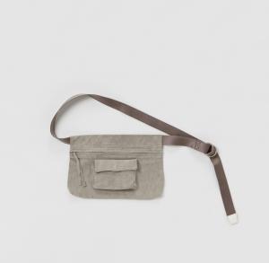 Hender Scheme「waist belt bag wide /  light gray」
