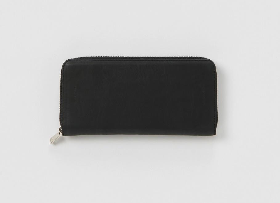 Hender Scheme「long zip purse / black」