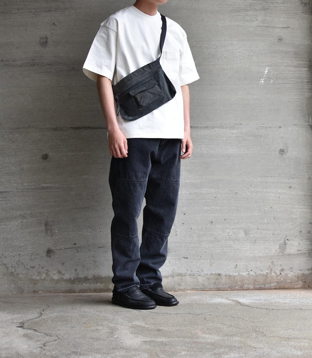 Hender Scheme「waist belt bag wide /  dark gray」