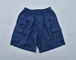 GOOFY CREATION「Pile pocket 2 tack cargo shorts / NAVY」