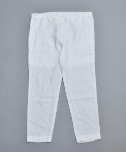 AUGUSTE-PRESENTATION PajamaLook「リネンシーツ イージーパンツ / WHITE 」