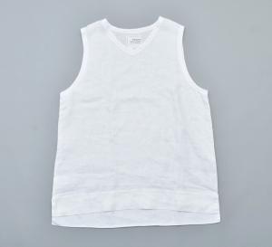 AUGUSTE-PRESENTATION PajamaLook「リネンシーツノースリーブプルオーバー / WHITE 」