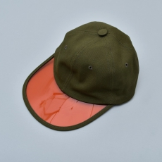 "GOOFY CREATION「""Philip"" Summer leisure hat / OLIVE×ORANGE」"