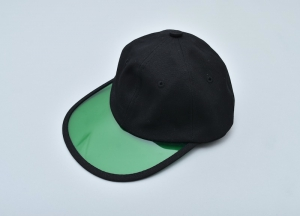 "GOOFY CREATION「""Philip"" Summer leisure hat / BLACK×GREEN」"