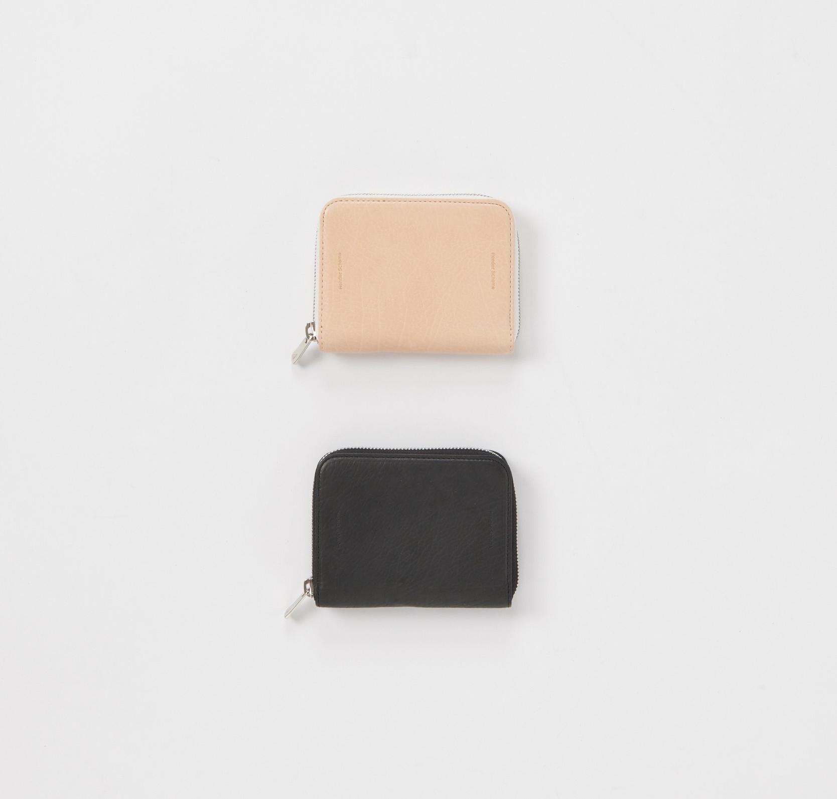 Hender Scheme「square zip purse / black」
