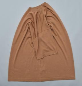 crepuscule「 Silk Knit Tee / Camel 」