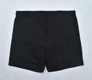 AUGUSTE-PRESENTATION PajamaLook「リネンシーツ ショートパンツ / BLACK 」