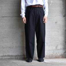 AURALEE「HIGH COUNT CLOTH WIDE PANTS」