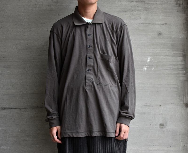 ESSAY「TS-3 - DEEP POLO /  khaki grey」