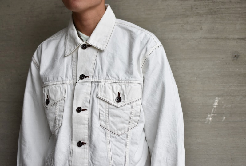 ESSAY「J-2 - SHIRT G-JACKET / white」
