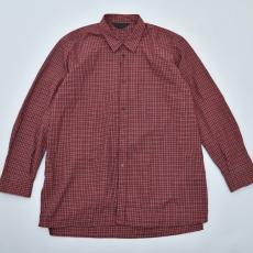 ESSAY「SH-1 - PARMANENTAL SHIRT / red tartan」