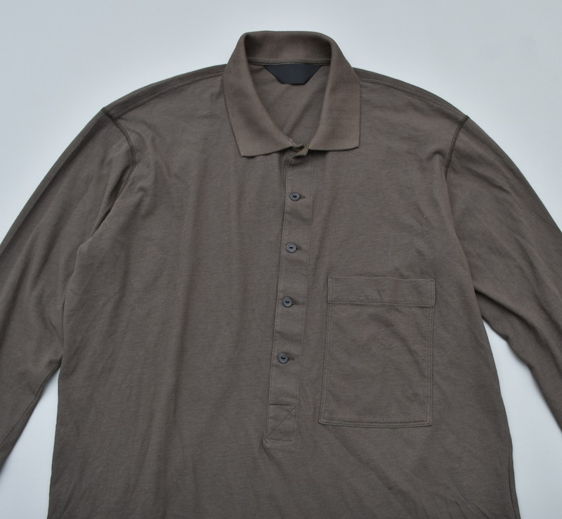 ESSAY「TS-3 - DEEP POLO /  khaki grey」