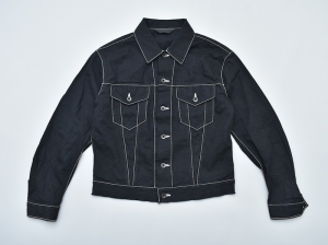 ESSAY「J-2 - SHIRT G-JACKET / black」